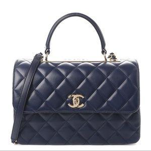 Pristine Chanel Quilted Medium Trendy CC Flap